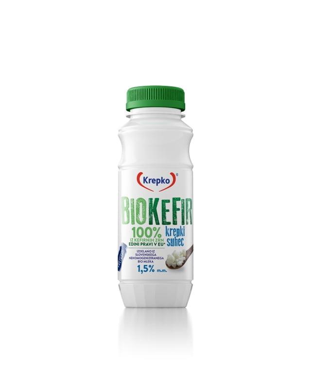 Bio kefir Krepki suhec 1,5% m.m. 250g