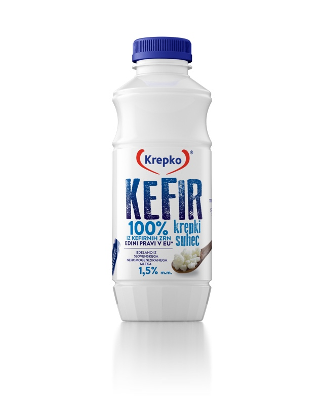 Kefir Krepki suhec 1,5% 500 g