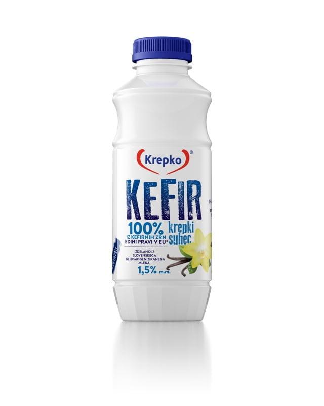 Kefir Krepki suhec with vanilla 500g