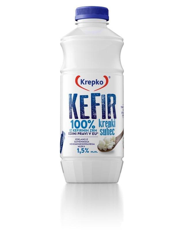 Kefir Krepki suhec 1,5% m.m. 750g