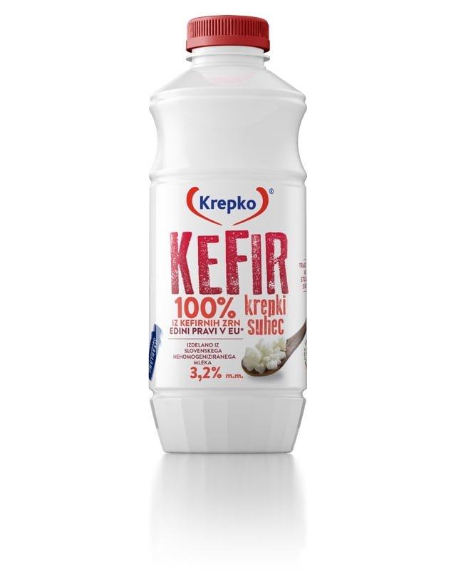 Kefir Krepki suhec 3,2% m.m. 750g