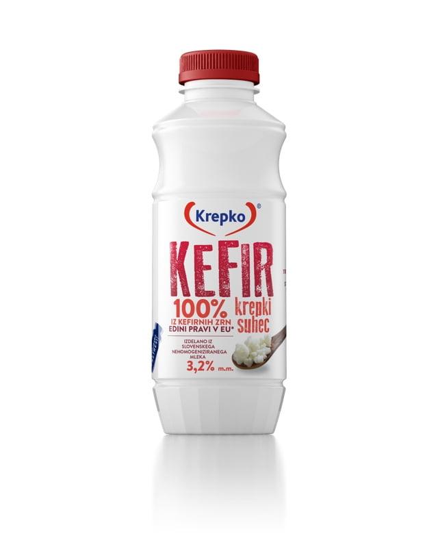 Kefir Krepki suhec 3,2% mm 500g