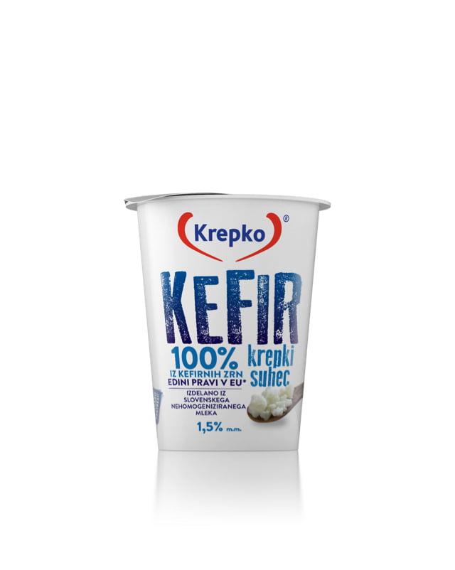 Kefir Krepki suhec 1,5% m.m. 200g