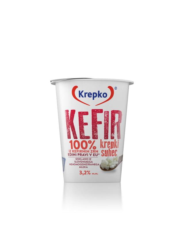 Kefir Krepki suhec 3,2% m.m. 200g