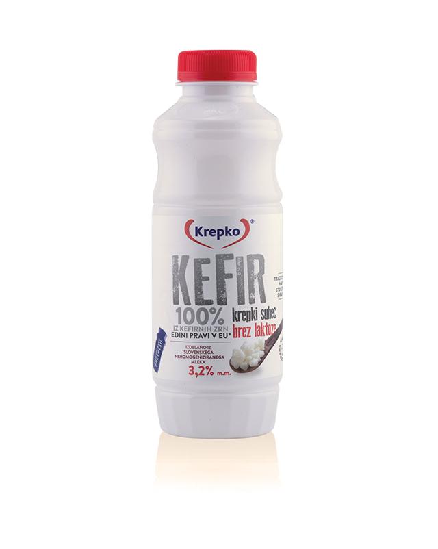 Kefir Krepki suhec 3,2% m.m. brez laktoze 500g