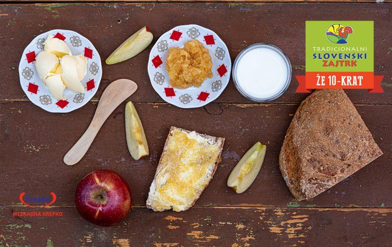 10. Tradicionalni slovenski zajtrk